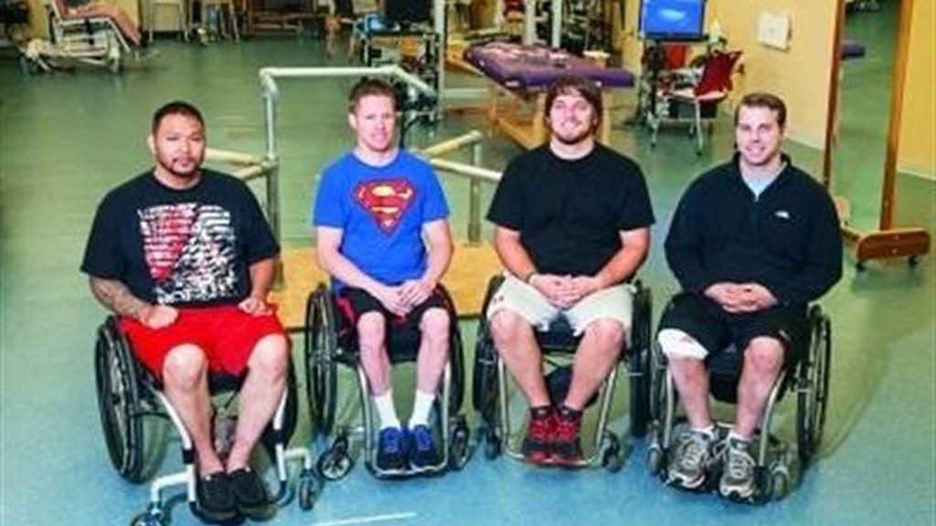 Cuatro pacientes con paraplejia recuperan movilidad gracias a la estimulación eléctrica