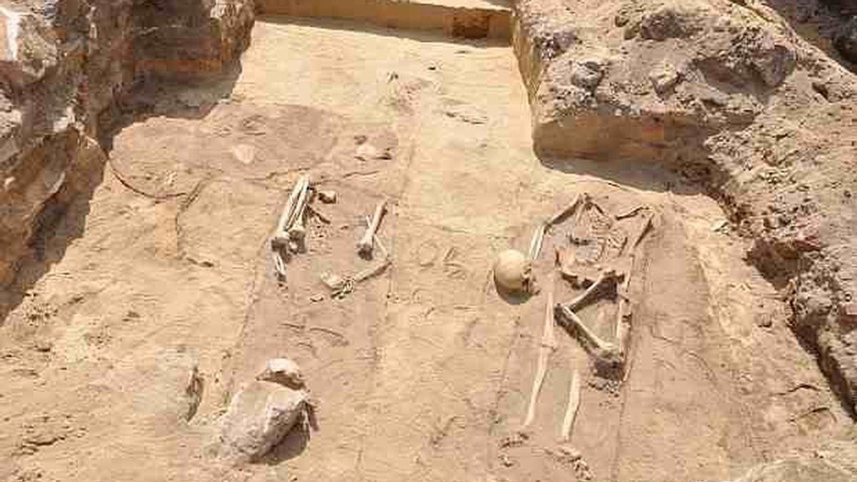 Encuentran cuatro esqueletos de vampiro en Polonia