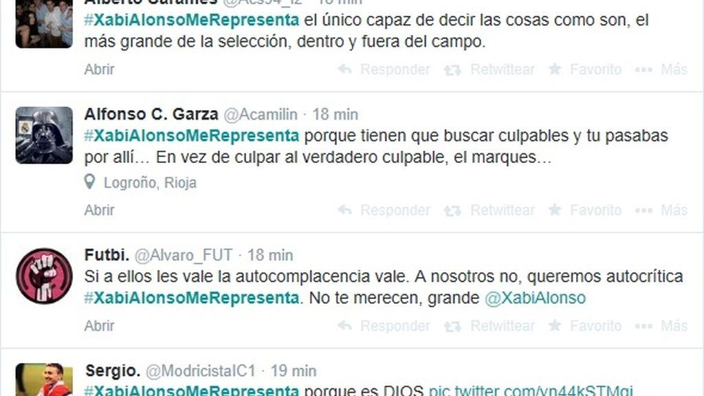 Tweets Xabi Alonso