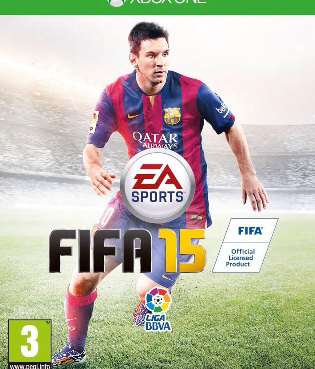 FIFA 15, Messi, videojuegos