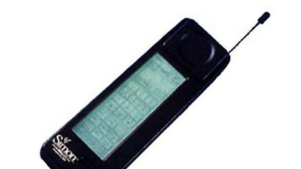 1994: 'BellSouth/IBM Simon Personal Communicator'