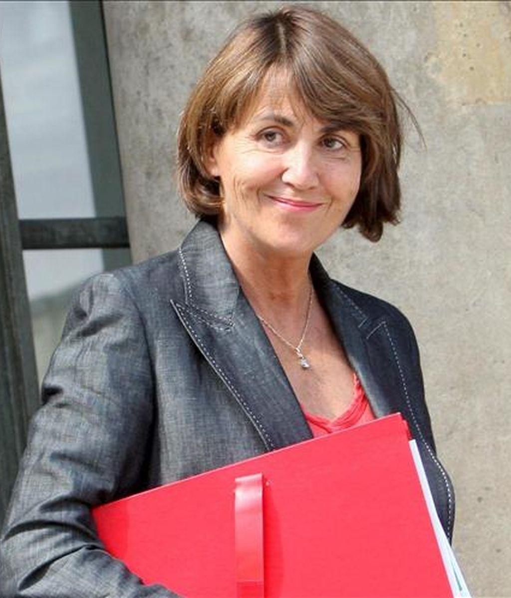 La ministra de Cultura francesa, Christine Albanel. EFE/Archivo