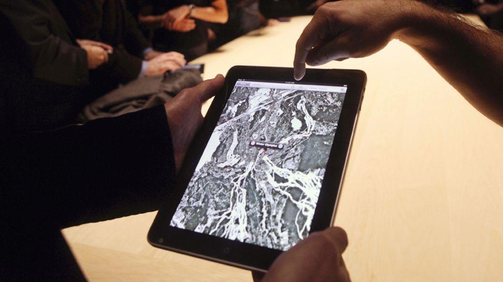 Google Maps se optimiza para iPad y permite consultar el tráfico en tiempo real