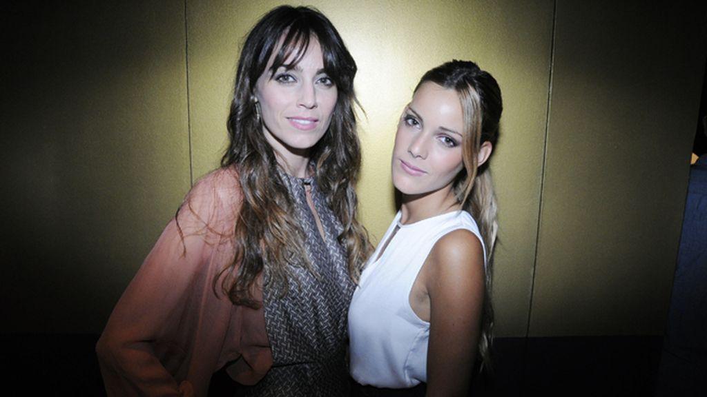 Las actrices Irene Arcos y Alejandra Onieva