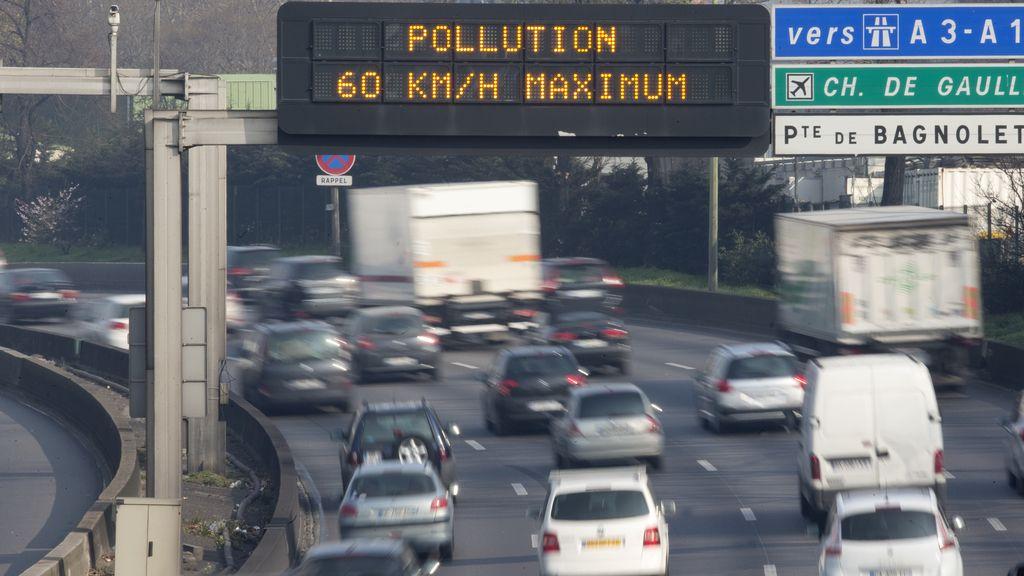 Alerta en París por contaminación