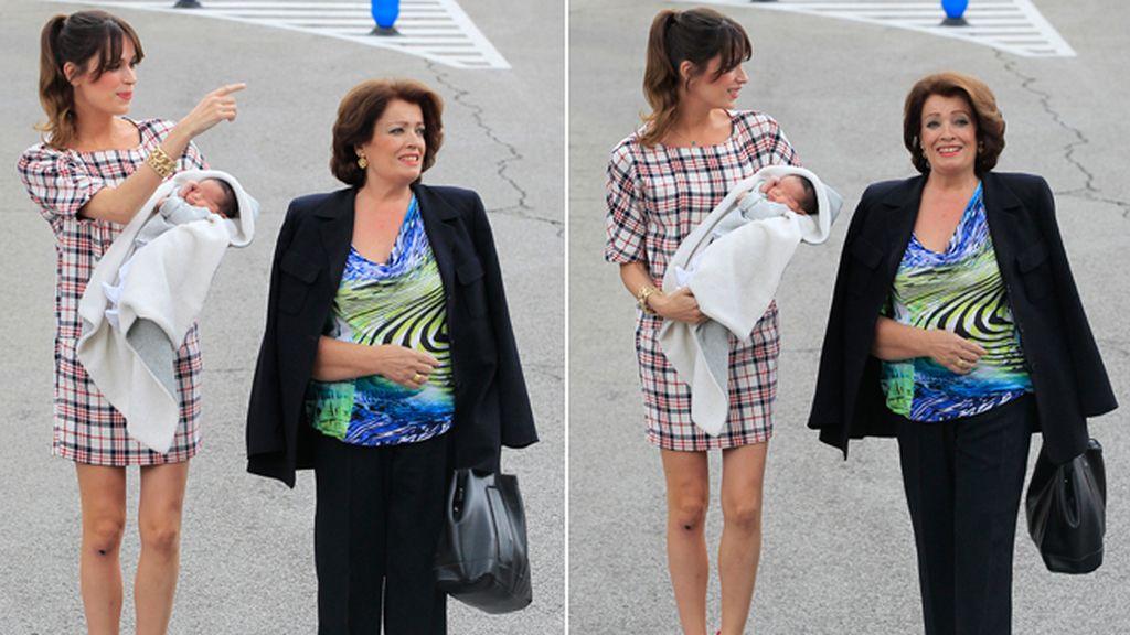 El parto se le adelantó a la presentadora