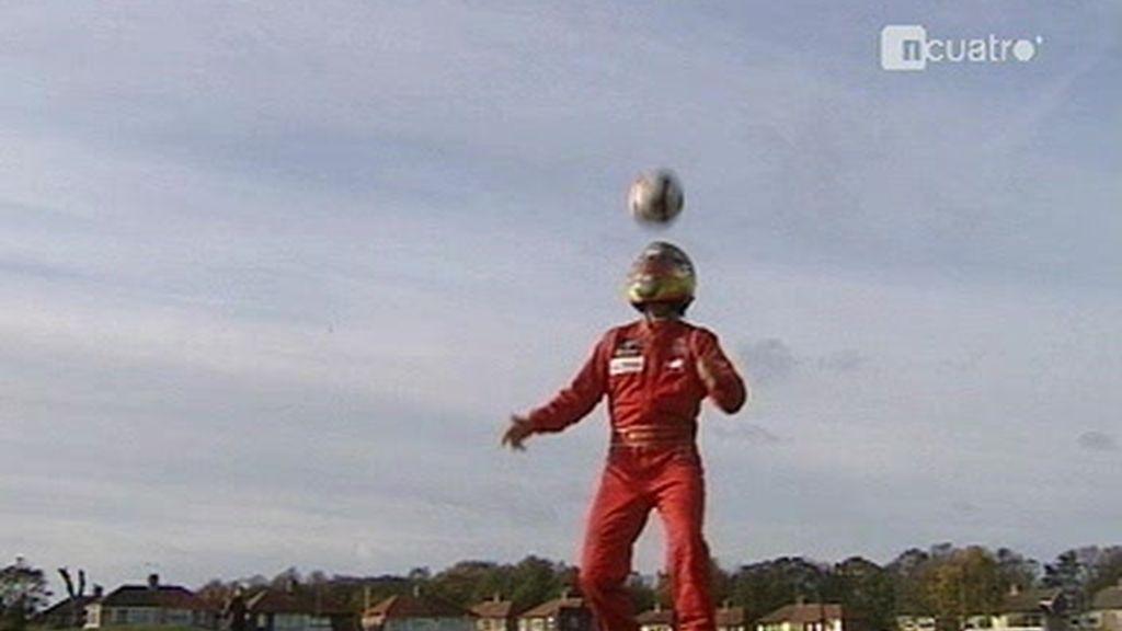 ¡Qué peligro tiene Adrián Vallés con un balón!