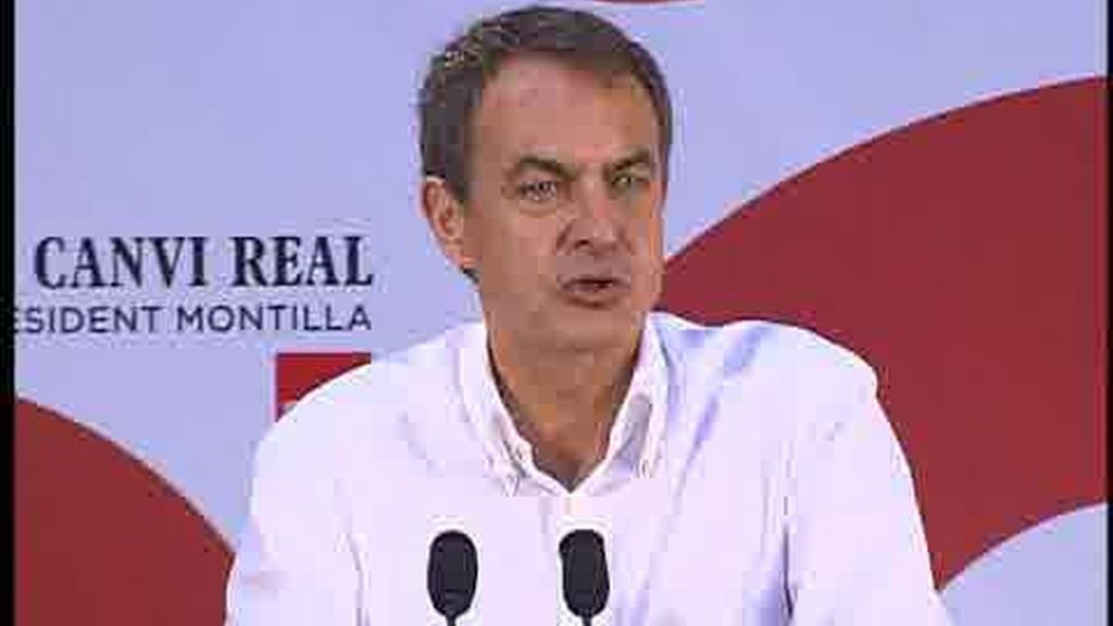 "Zapatero: Labordeta ""era un hombre auténtico"""