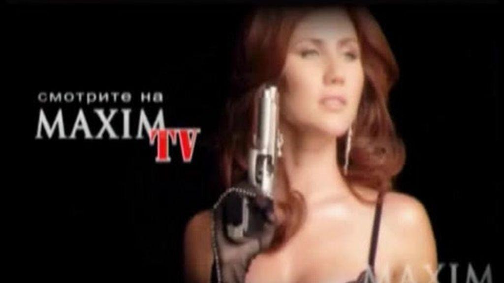Armas de una espía rusa