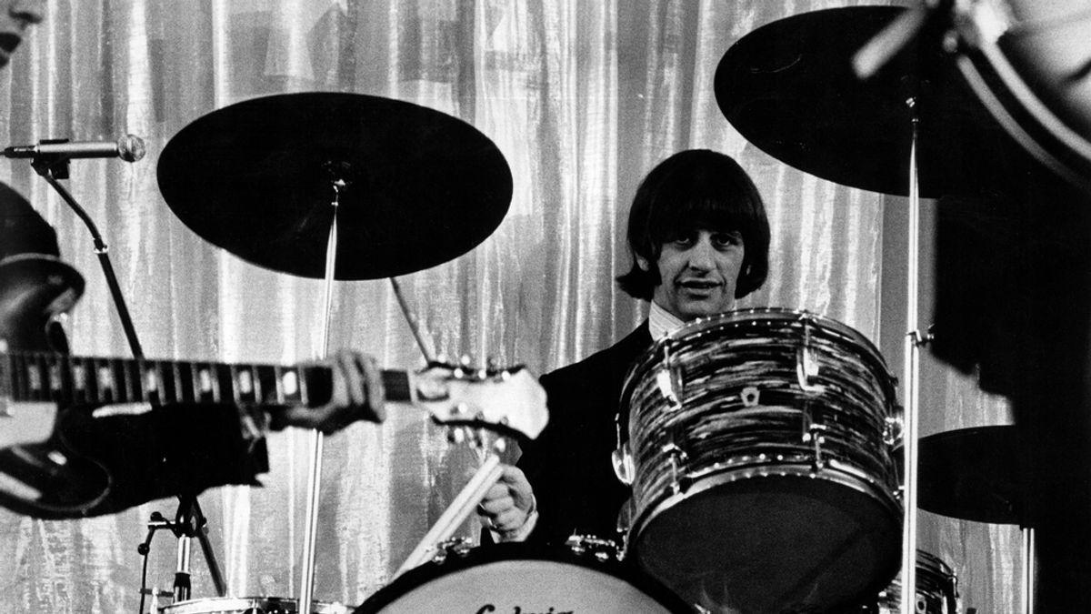 Vendida la famosa batería de Ringo Starr por 2,2 millones de dólares en una subasta
