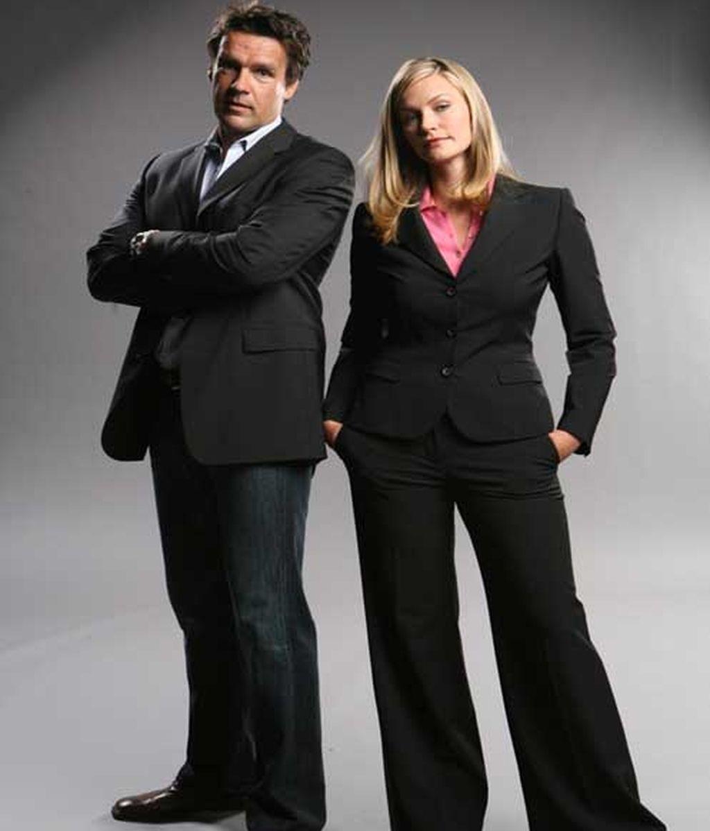 Alex Kinter y Dr. Maddie Rhodes