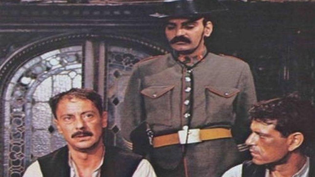 Daniel Dicenta en un cartel de El Crimen de Cuenca