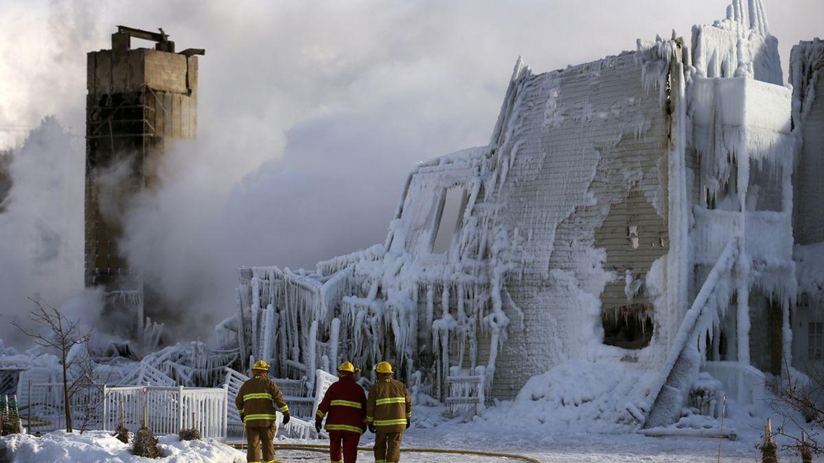 Incendio de una residencia de ancianos en Canadá