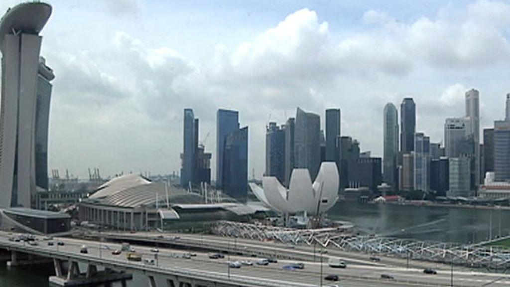 Edificios en Singapur
