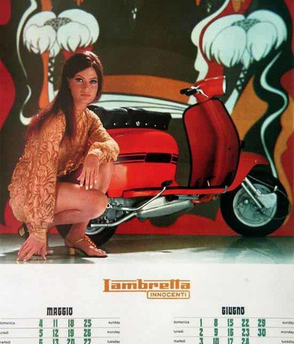 Lambrettas y moda en los sesenta