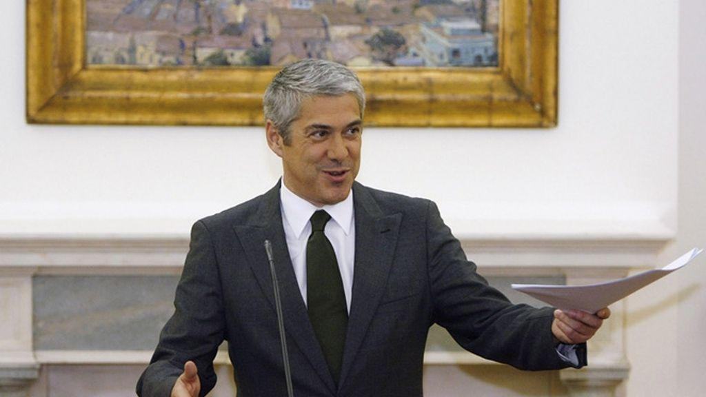 El primer Ministro de Portugal, José Sócrates