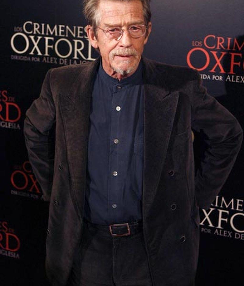 Presentación de 'Los crímenes de Oxford'