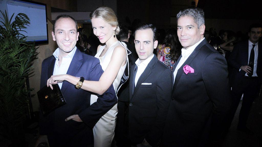 Andrés White, María León, José Balaguer y Boris Izaguirre