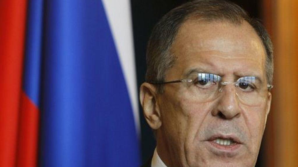 Ministro de Asuntos Exteriores de Rusia, Sergei Lavrov