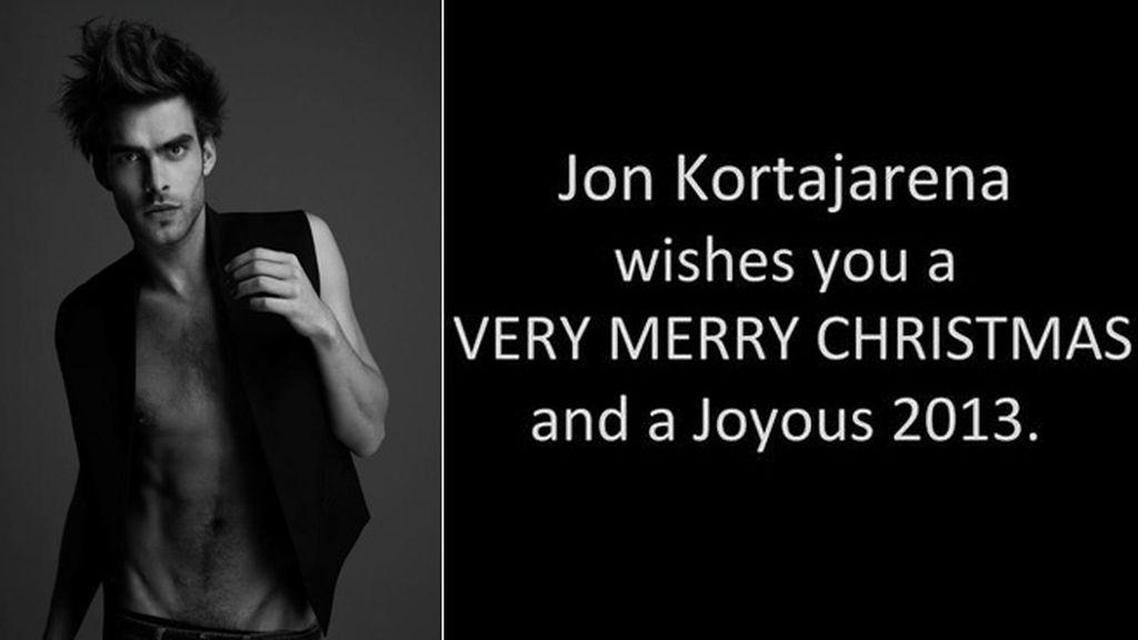 Las Navidades siempre son felices si Jon Kortajarena te felicita de esta forma