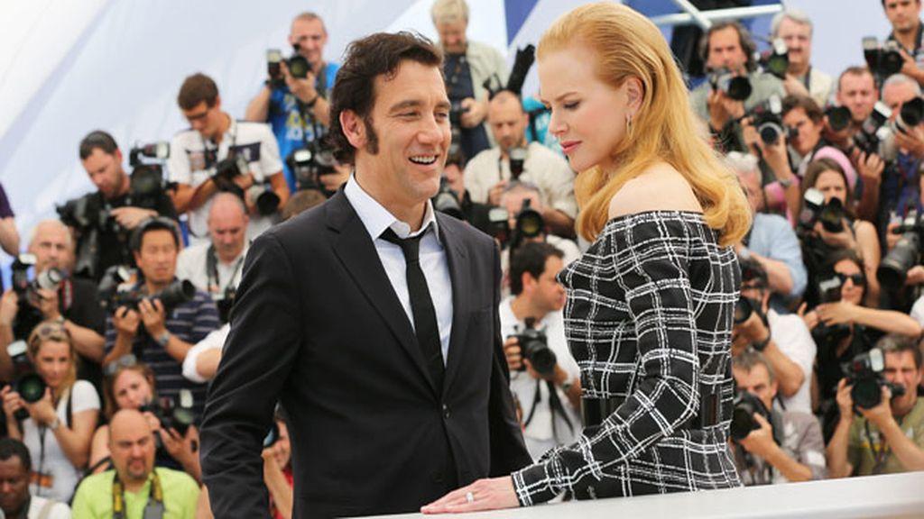 Nicole Kidman y Clive Owen en la presentación de Heminway y Gellhorn