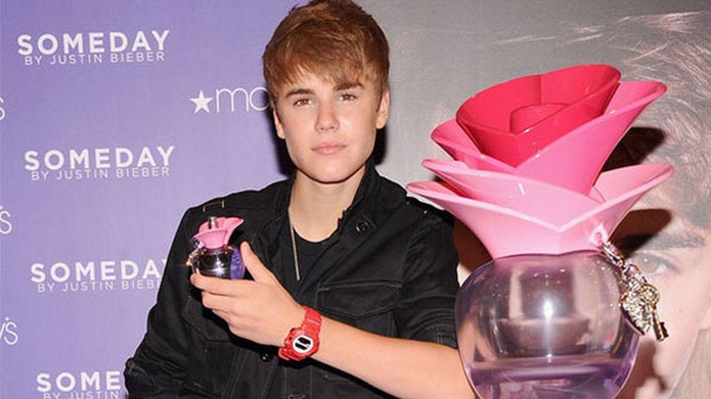 Justin Bieber, éxito entre sus fans