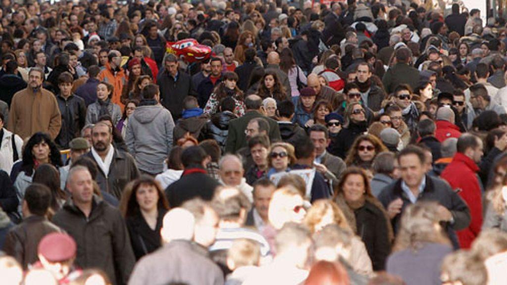 La población española asciende a los 46'8 millones de euros