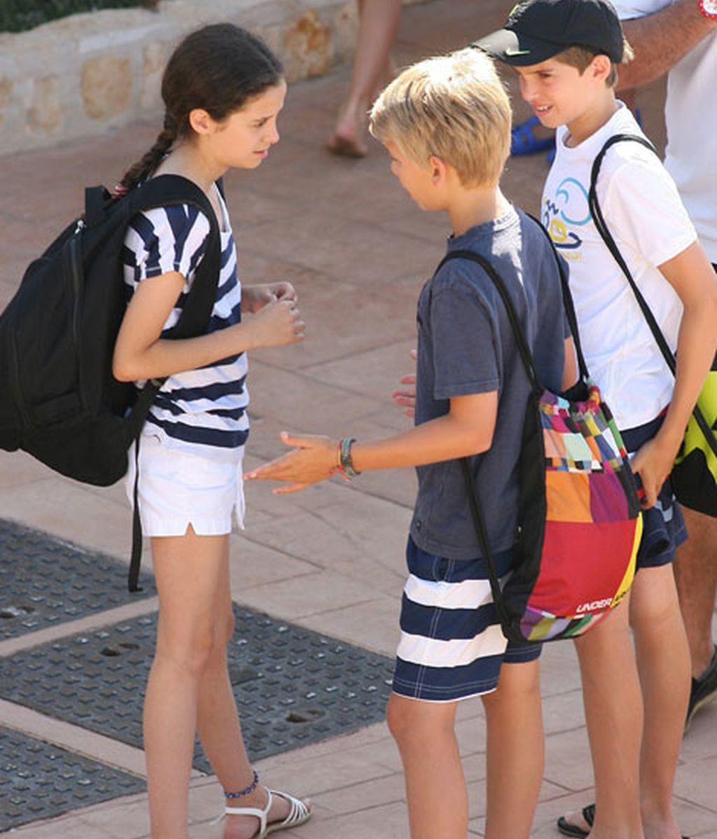 Los pequeños comenzarán el curso en la escuela Cala Nova de Mallorca