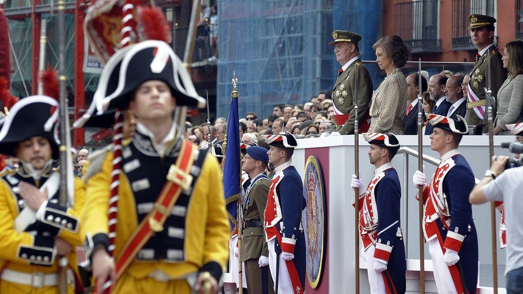 La Familia Real celebra el día de las Fuerzas Armadas