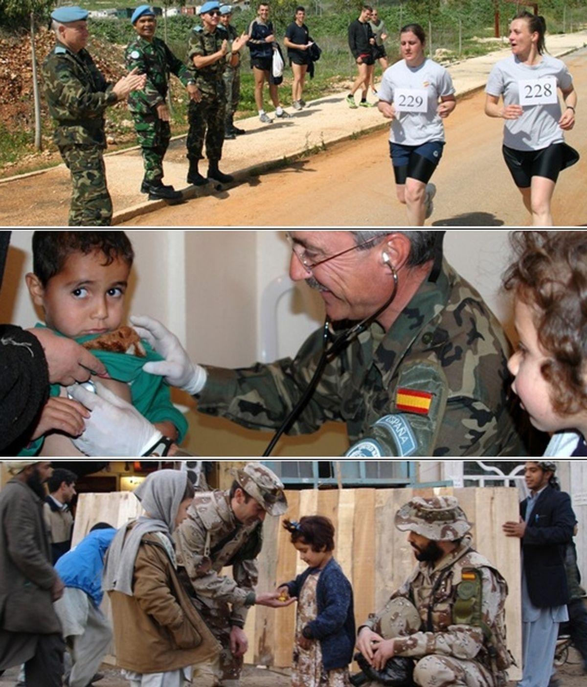 carrera solidaria, Ejército, Corre con todas tus fuerzas