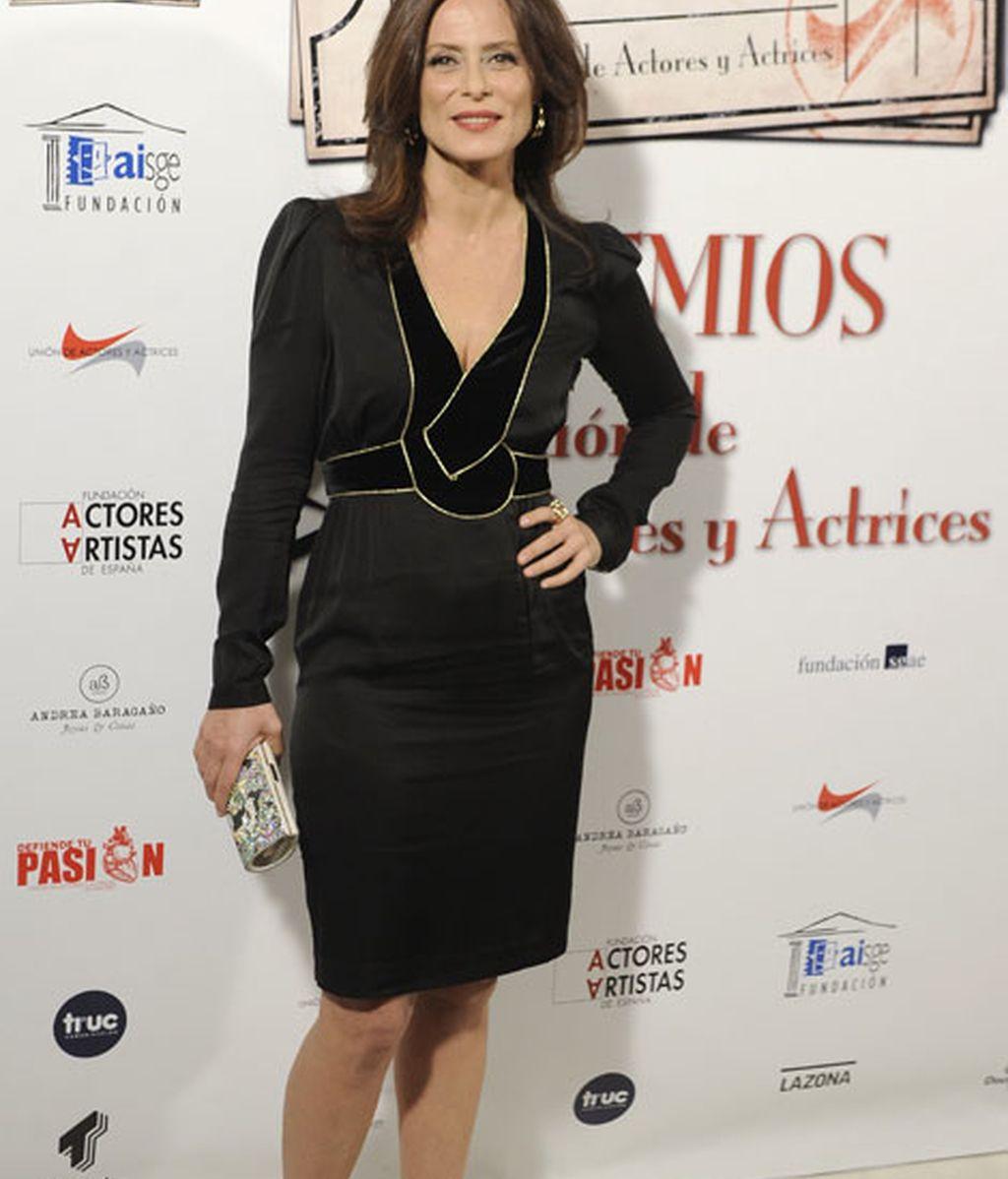 Aitana Sánchez Gijón fue otra de las asistentes