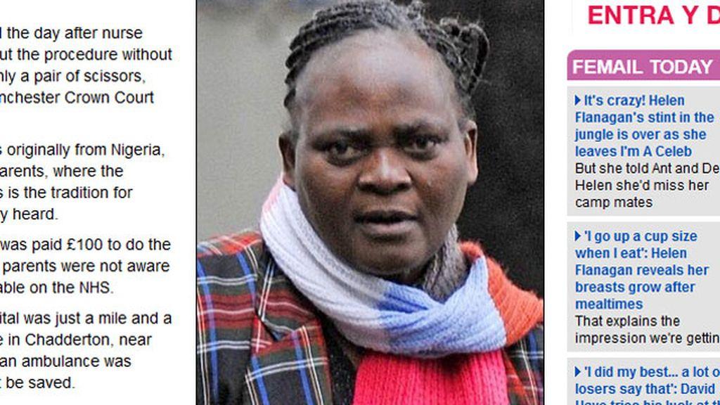 Grace Adeleye está acusado de homicidio tras fallecer el bebé al que practicó la circuncisión