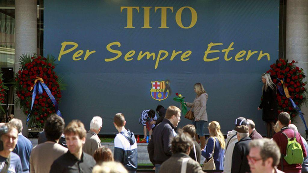 Tito Vilanova, en el recuerdo