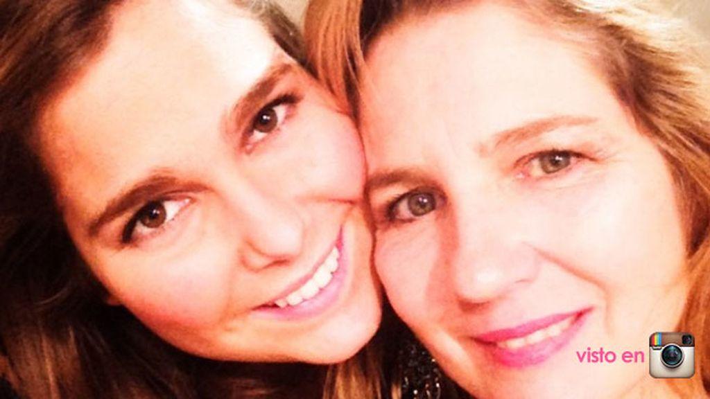 La actriz Natalia Sánchez se pone de lo más cariñosa con su madre en las redes