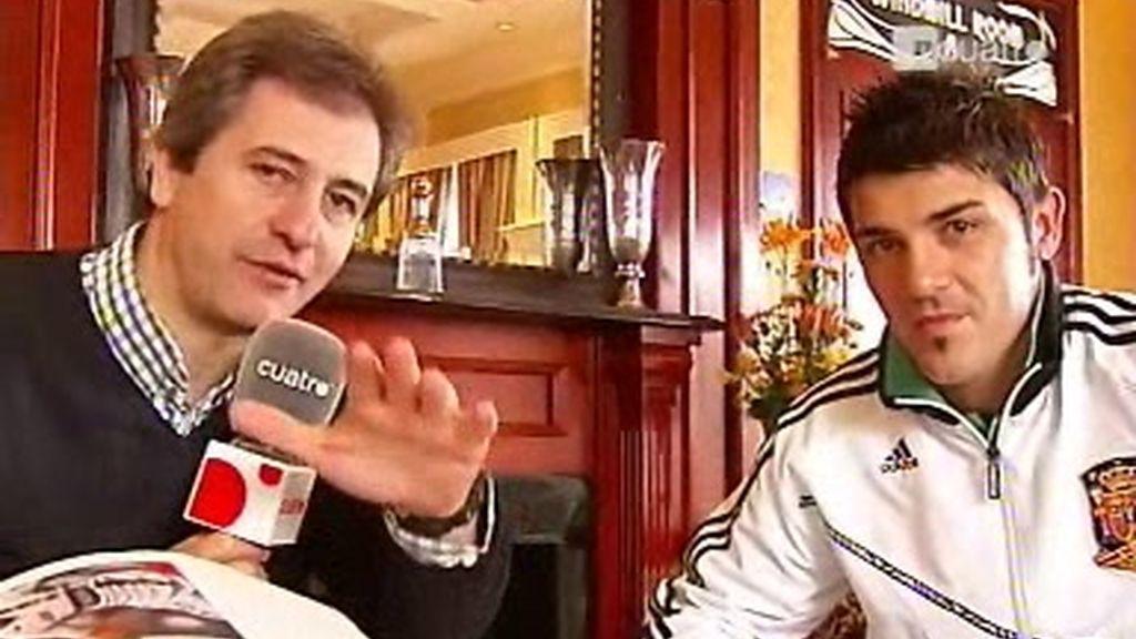 Entrevista a David Villa (2 de 2)