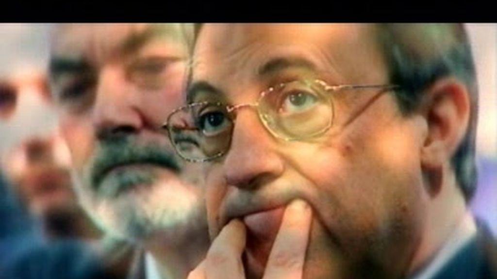 Florentino Pérez ya piensa en ir al mercado