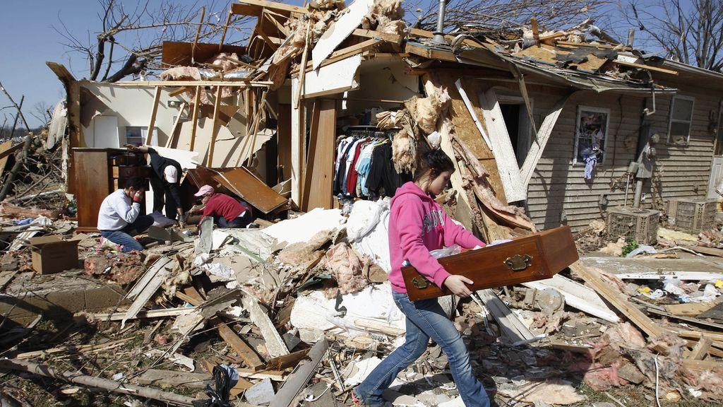 Ola de tornados en EEUU
