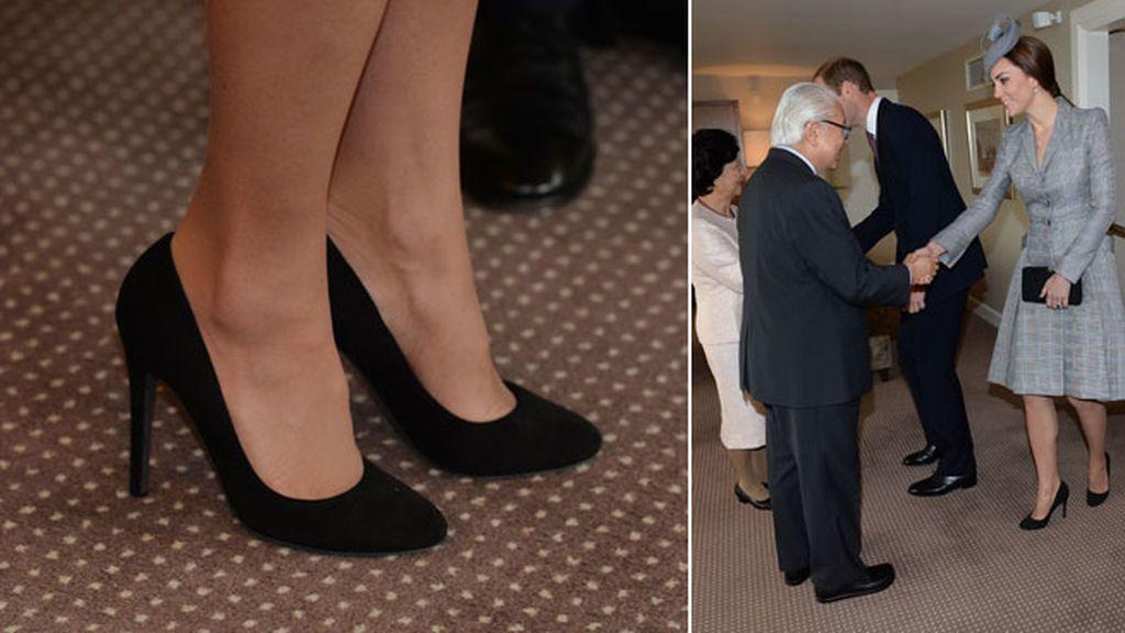 La Duquesa de Cambridge todavía no muestra signos de su segundo embarazo