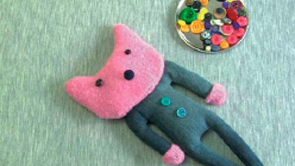Tricotosas 38: Muñeco de tela