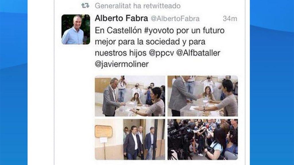"""Compromís denuncia a la Generalitat por usar la cuenta oficial de Twitter con """"fines electoralistas"""""""