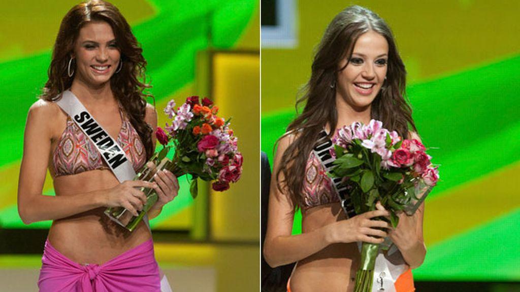 Miss Suecia y Miss Montenegro 2011