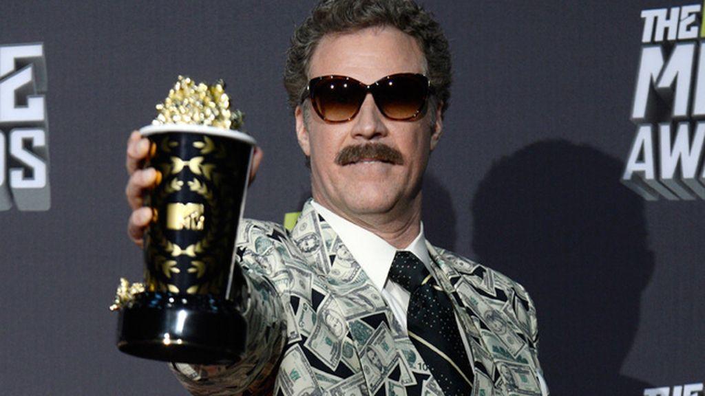 Will Ferrell obtuvo una distinción por su trayectoria en películas de comedia