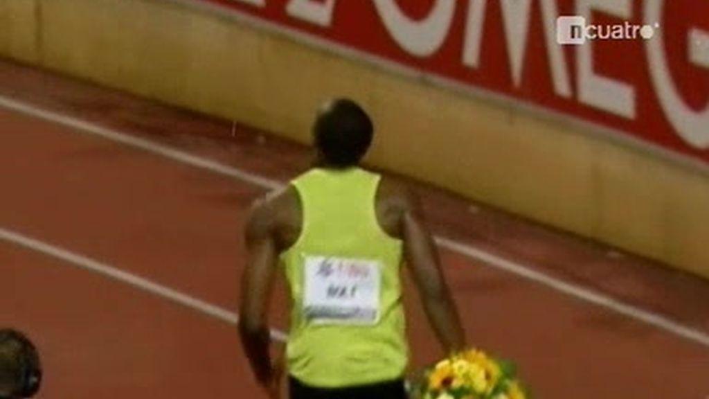 Usain Bolt con o sin lluvia bate récords