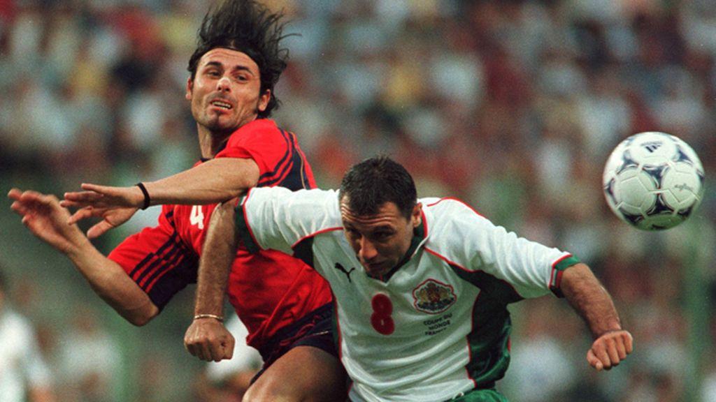 Bulgaria y Stoichkov no podían faltar