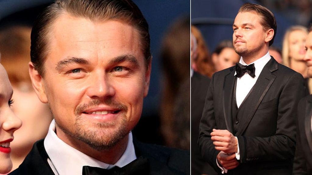 Leonardo DiCaprio, protagonista de la noche por su última película, 'El Gran Gatsby'
