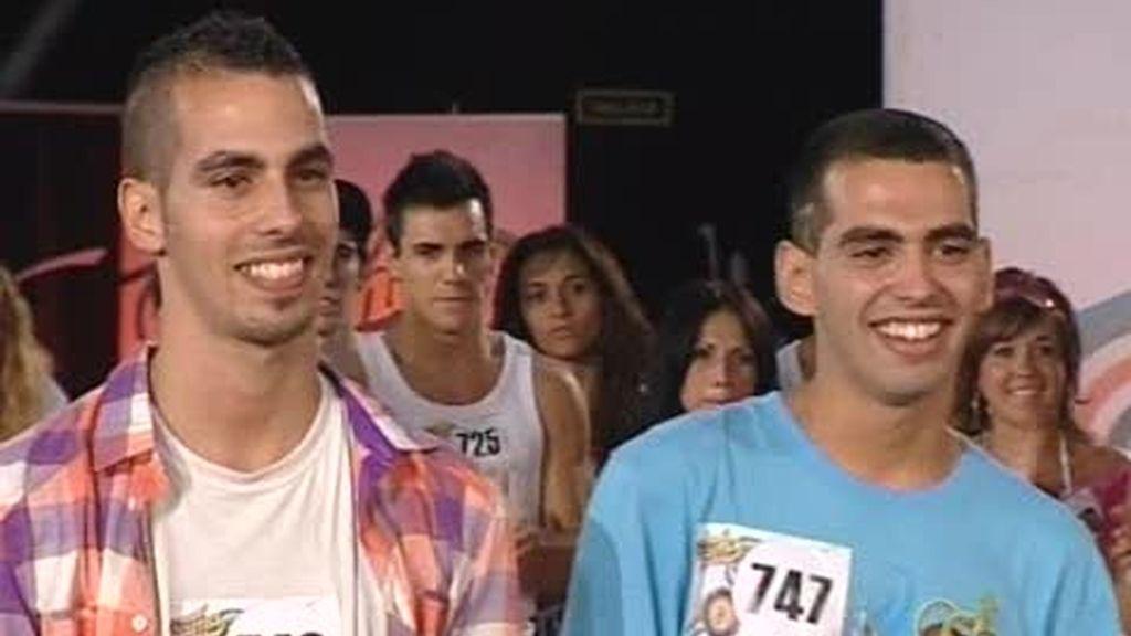 Alberto y Juan pasan el casting