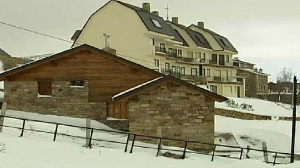 Nieve en el norte