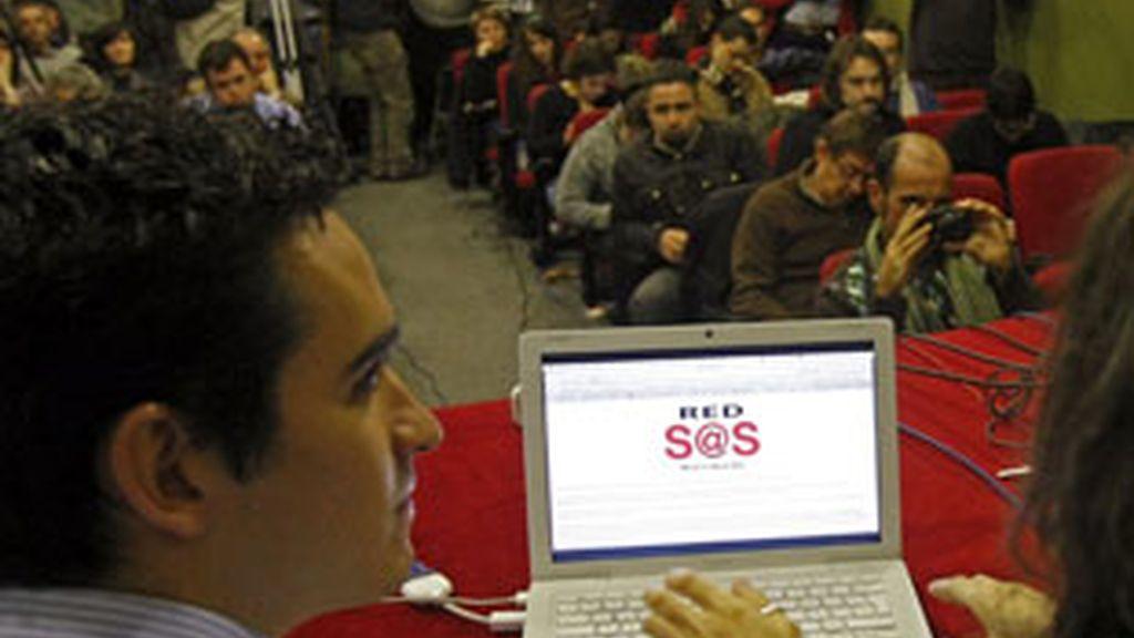 Nace Red-SOStenible, una agrupación de internautas, blogueros y grupos vinculados con el uso de internet contrario a la ley de Economía Sostenible del Gobierno.Vídeo: ATLAS