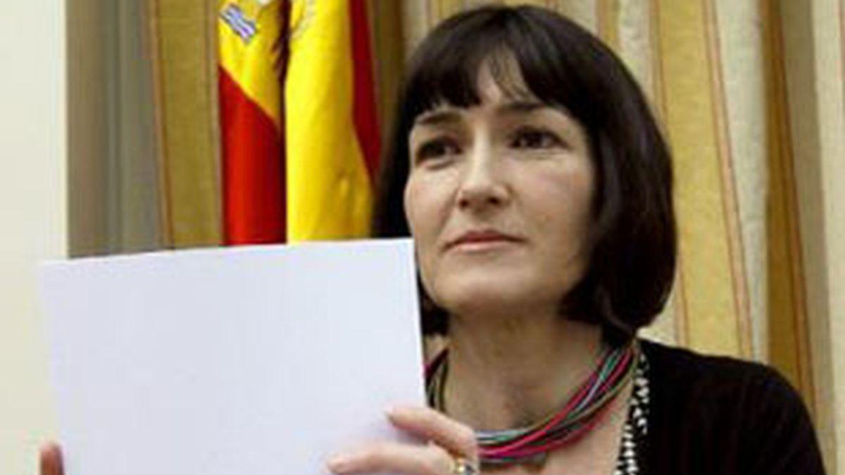 La ministra de Cultura, Ángeles González Sinde, ha sido objeto de numerosísimas críticas a raíz de esta disposición. Foto: EFE