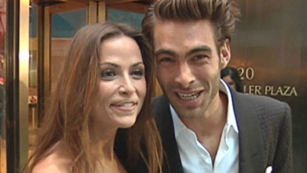 Almudena Fernández y Jon Kortajarena
